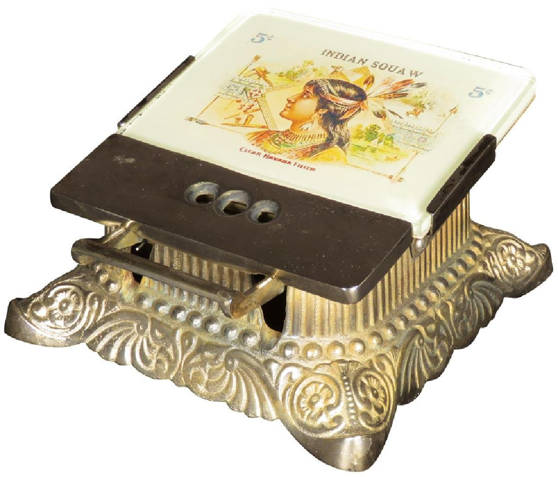 Indian Squaw Cigars Advertising Cigar Tip Cutter