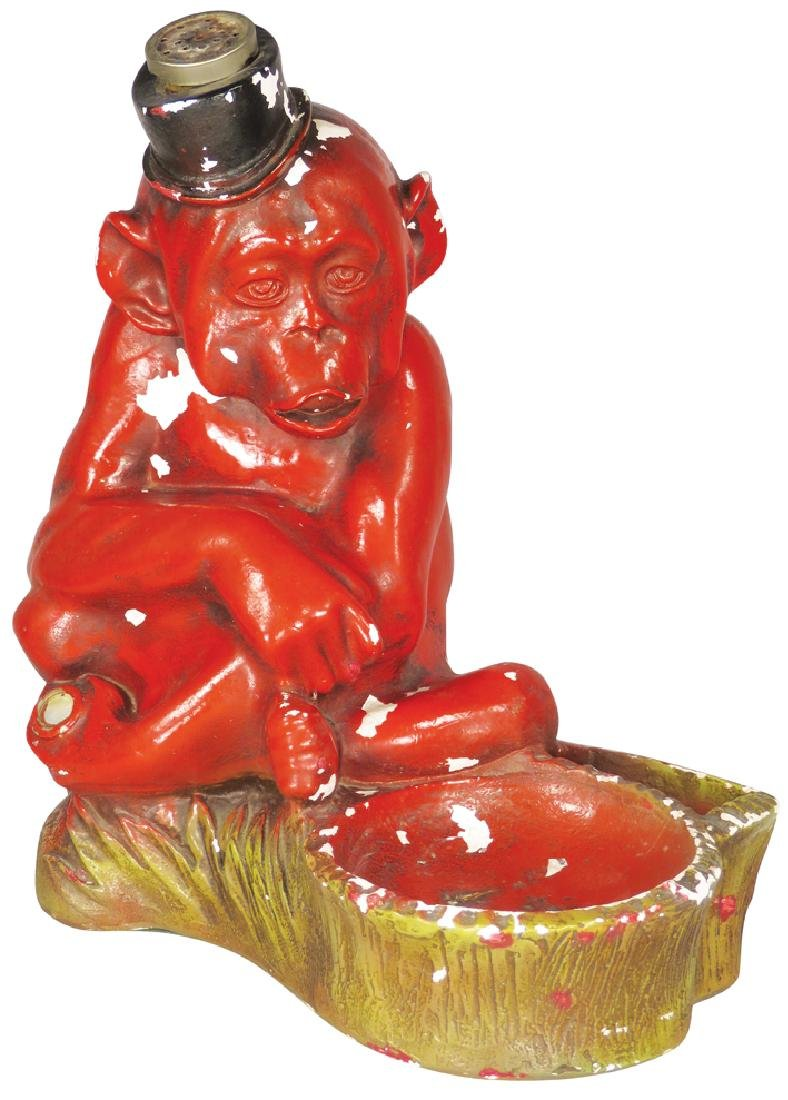 Funky Monkey Chalkware Electric Cigar Lighter