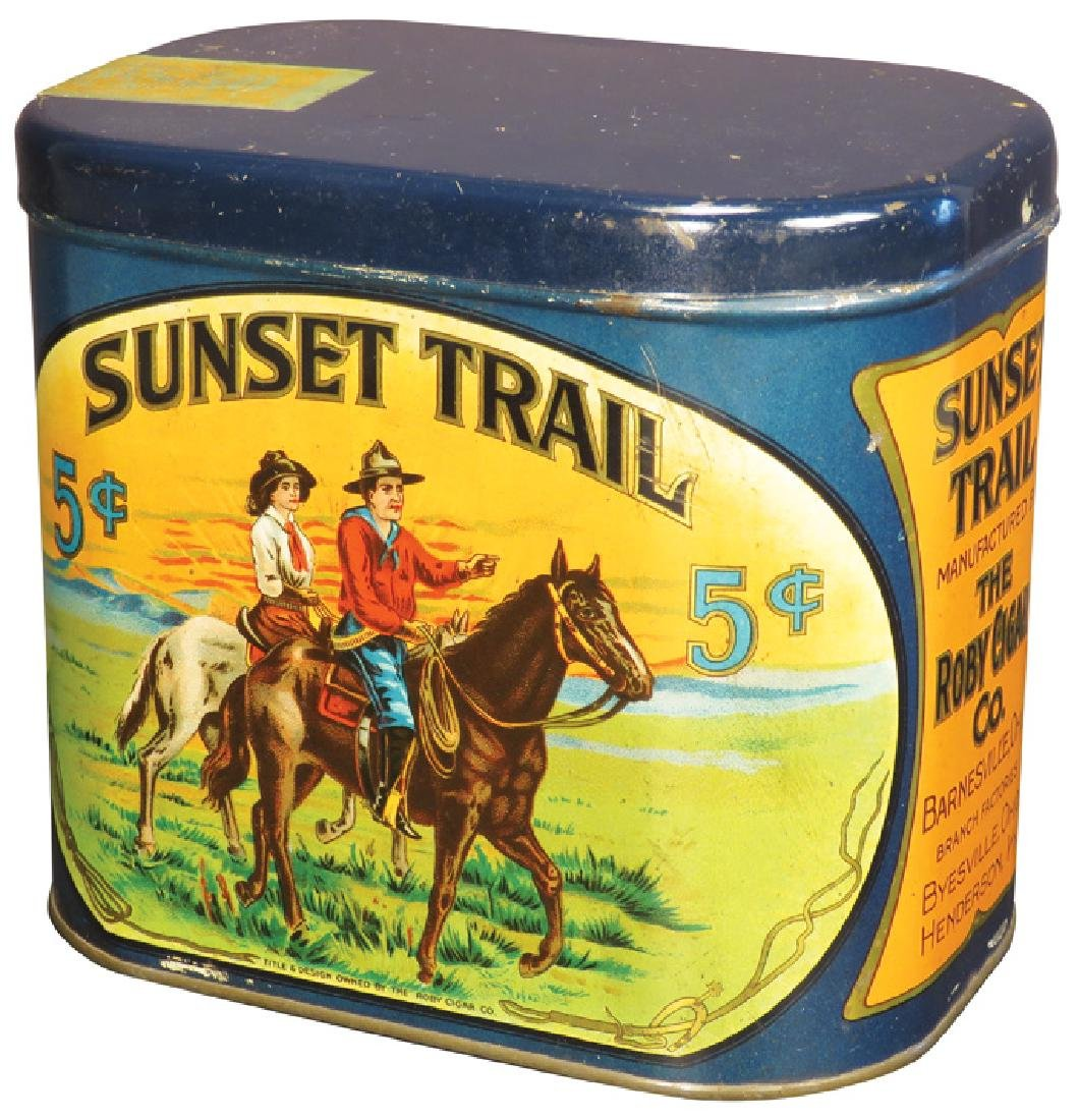 Sunset Trail 50 Count Cigar Tin