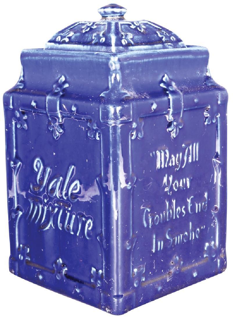 Yale Mixture Porcelain Tobacco Jar