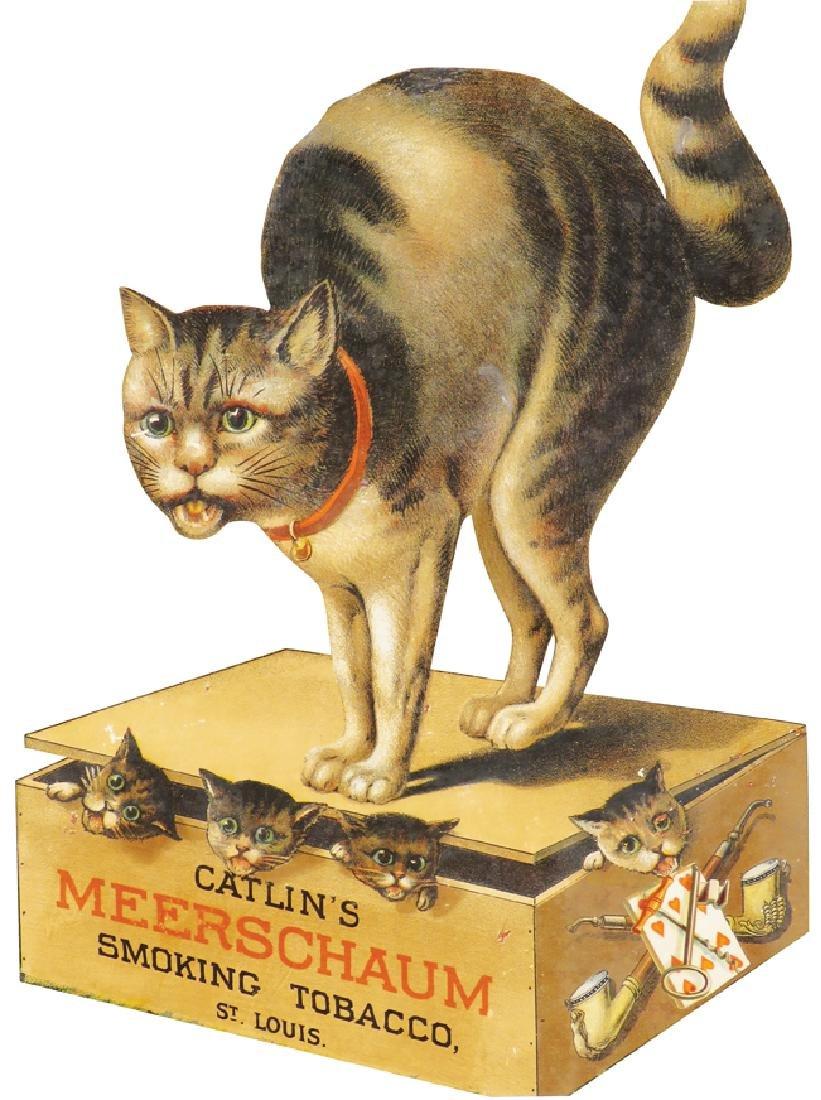 Catlin's Meerschaum Smoking Tobacco Sign