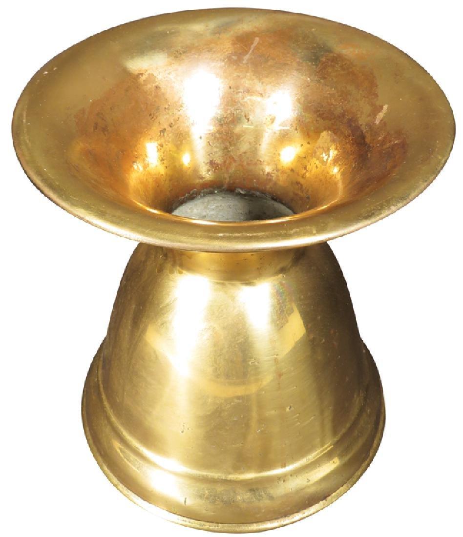 Antique Brass Spittoon