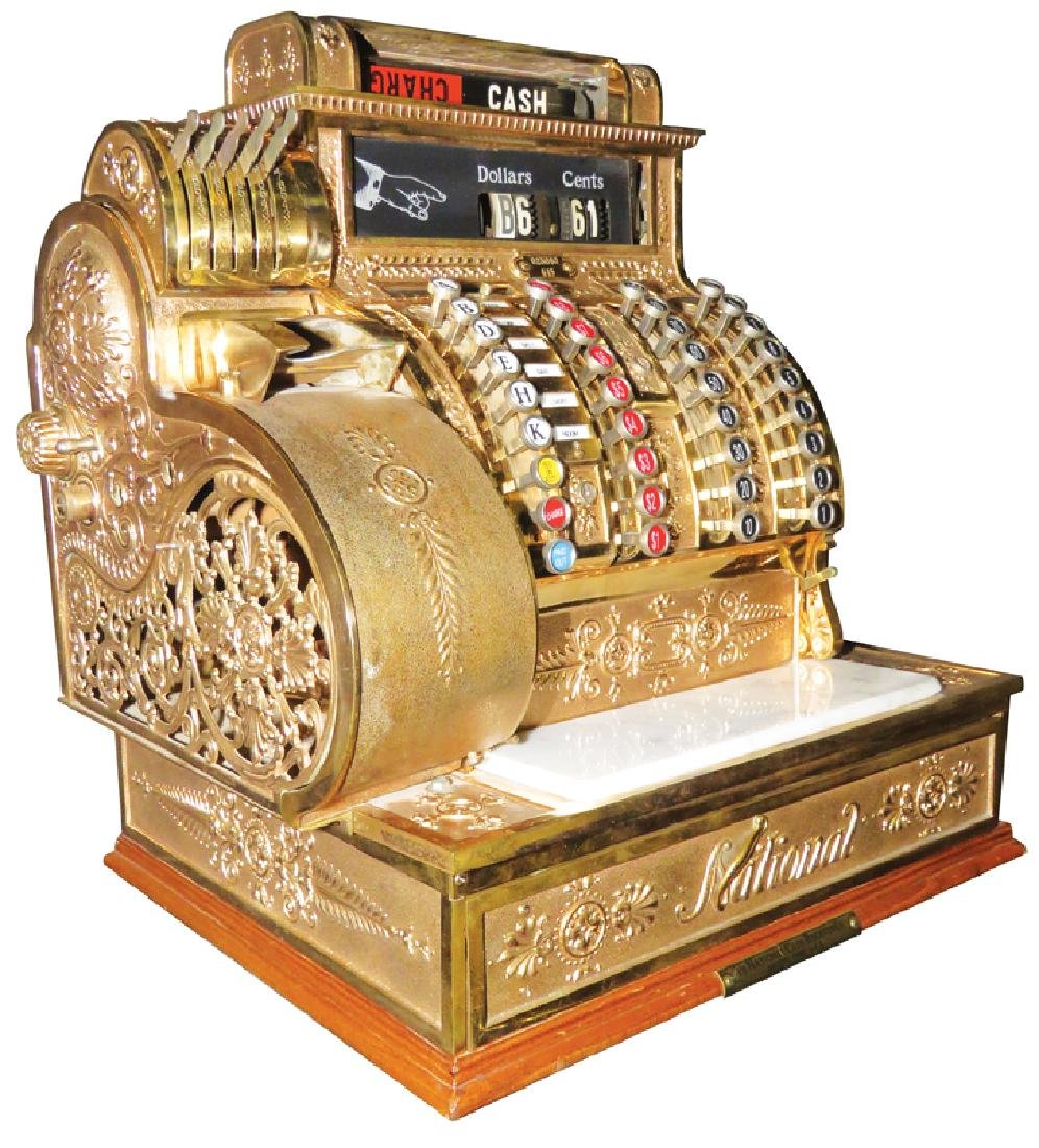 National Cash Register Co. Model 445 Cash Register