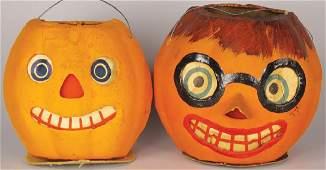 Jack O Lantern German Vintage Halloween Lanterns