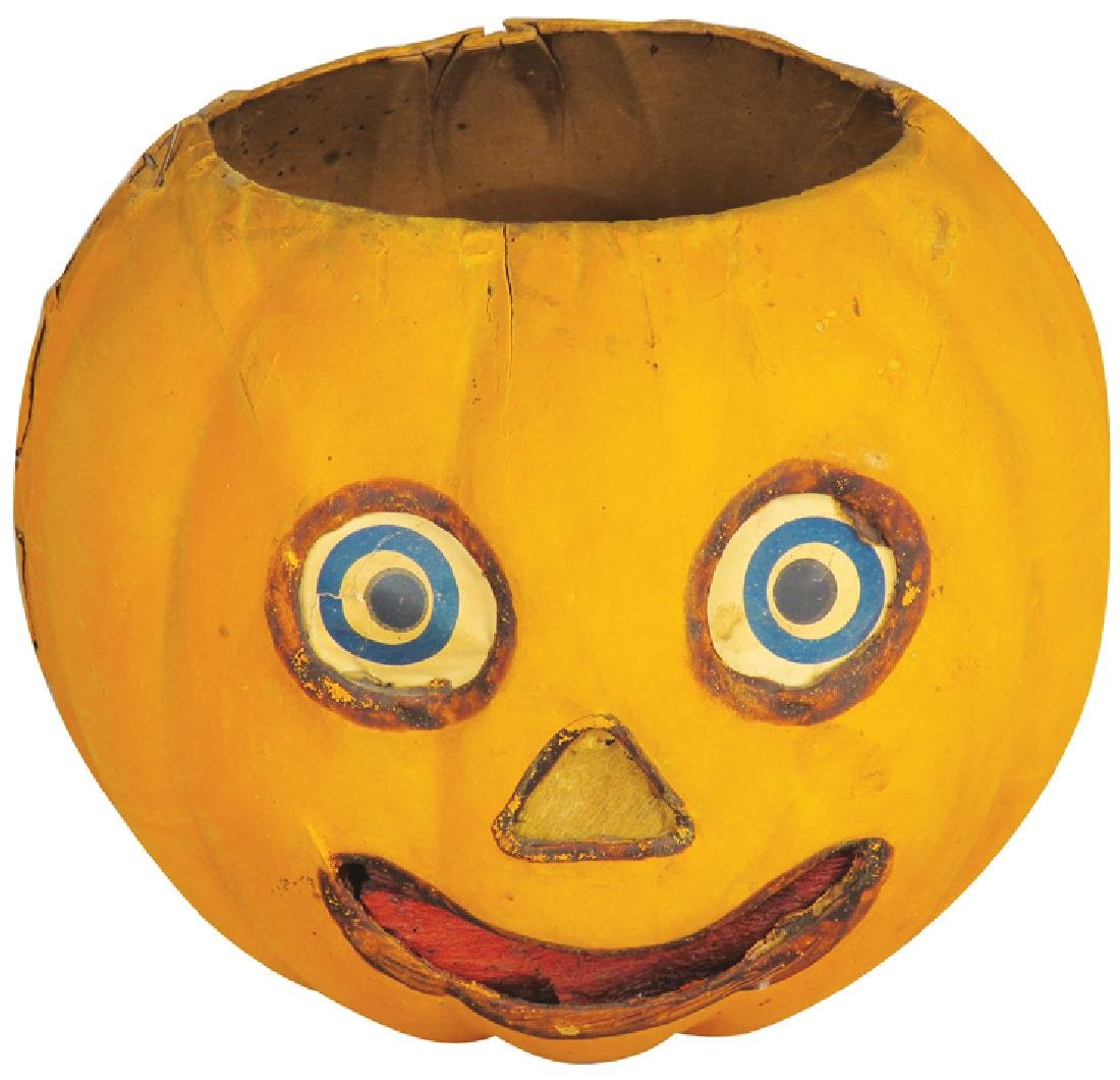 Jack O Lantern German Vintage Halloween Lantern