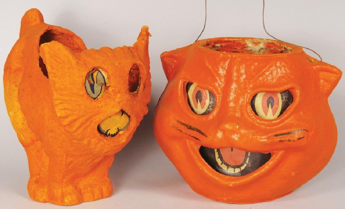 Vintage Halloween Pulp Paper Lanterns