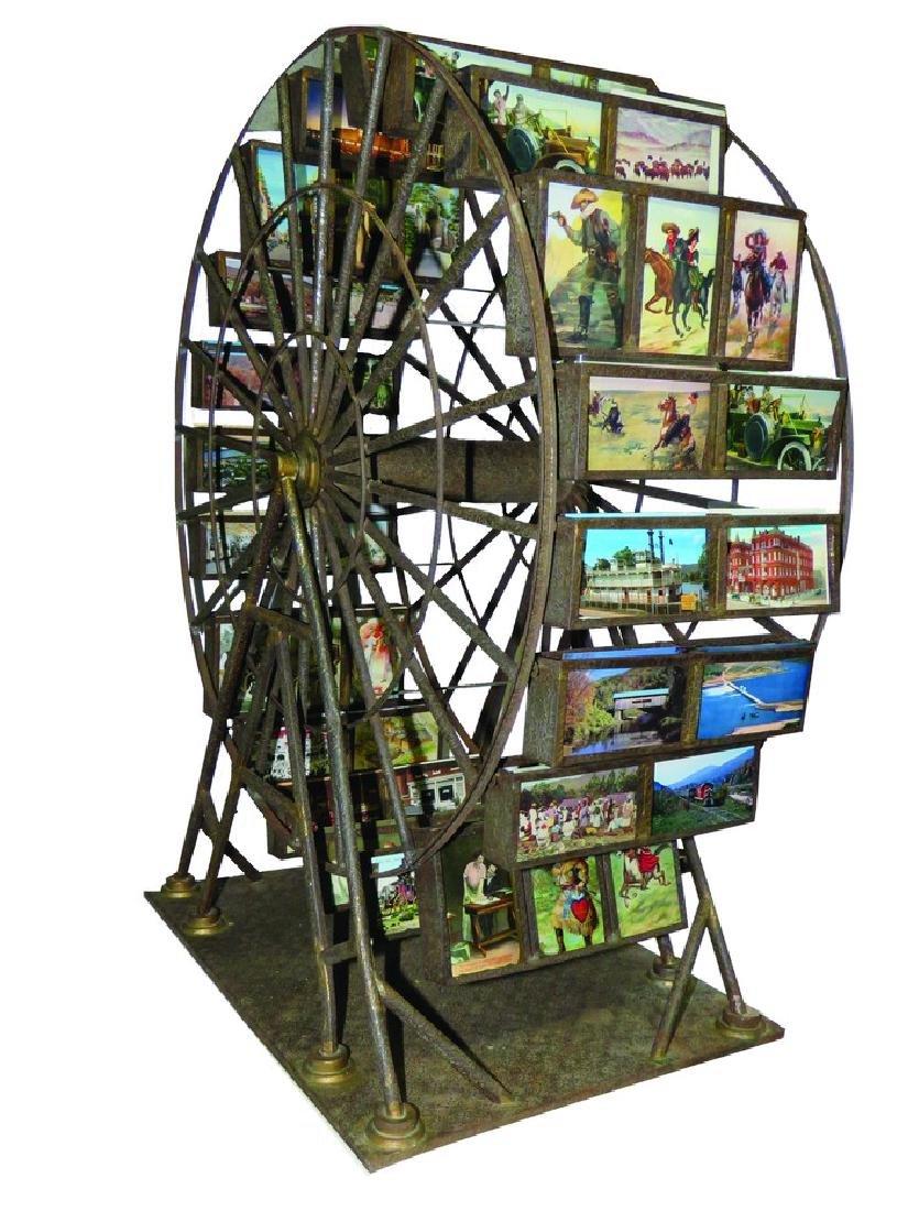 Ferris Wheel Postcard Store Merchandiser