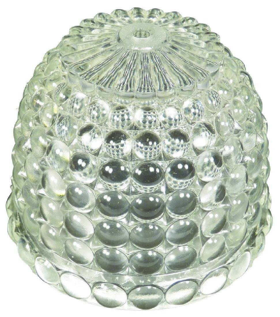 Antique Bee Hive Glass String Holder