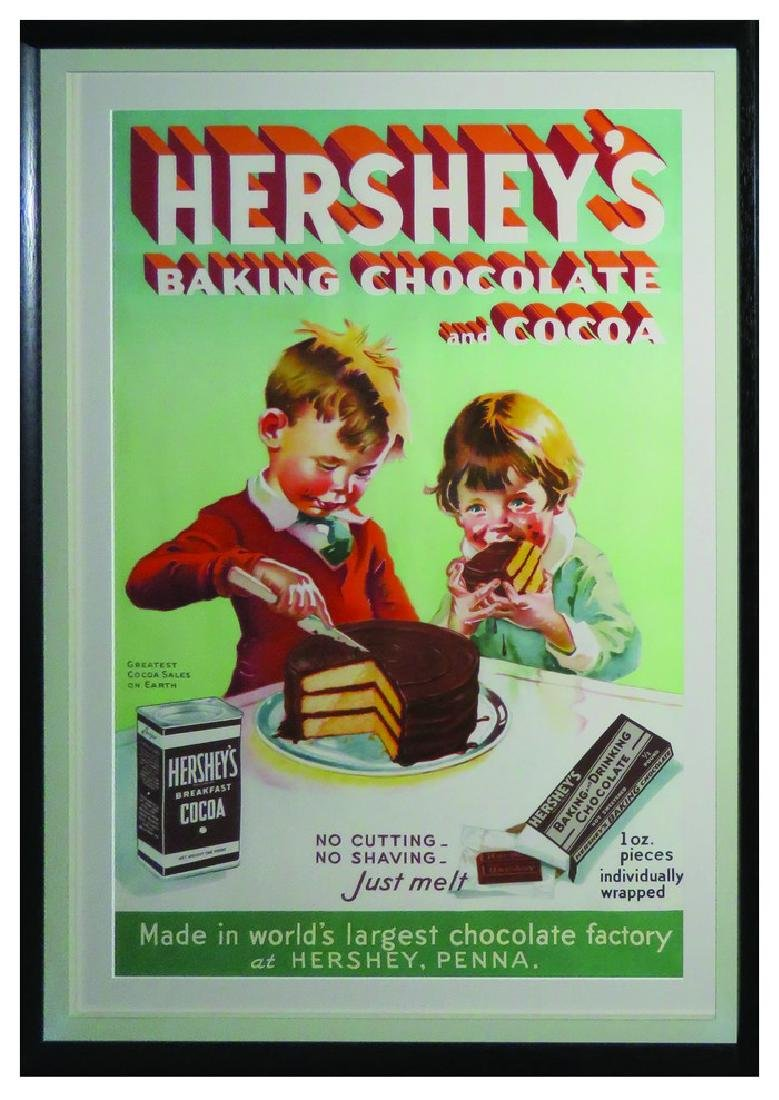Hershey's Baking Chocolate and Cocoa Paper Poster