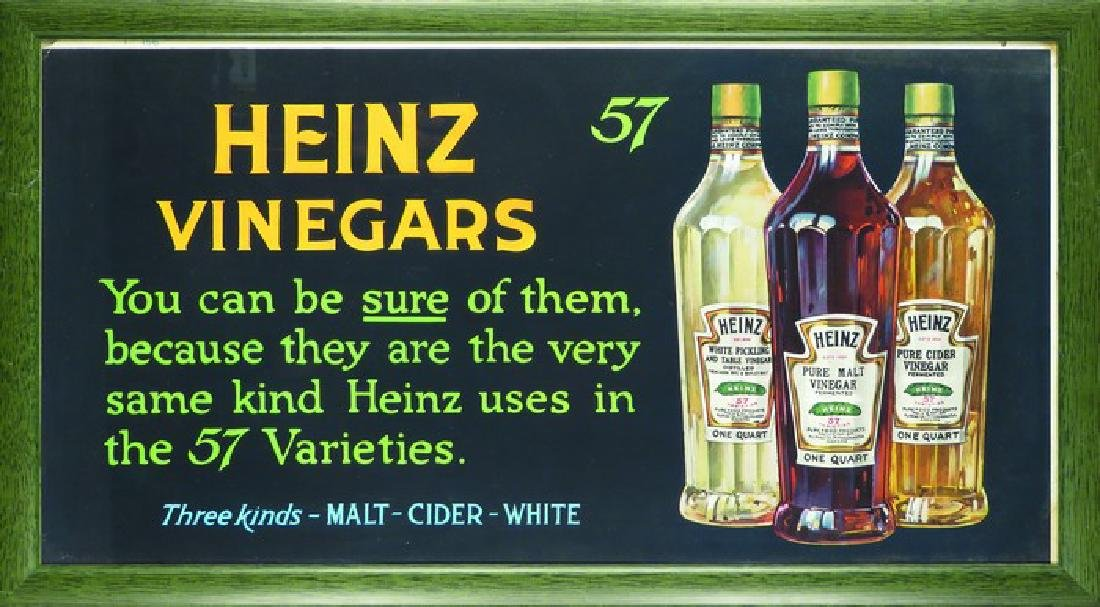 Heinz Vinegars Trolley Car Sign