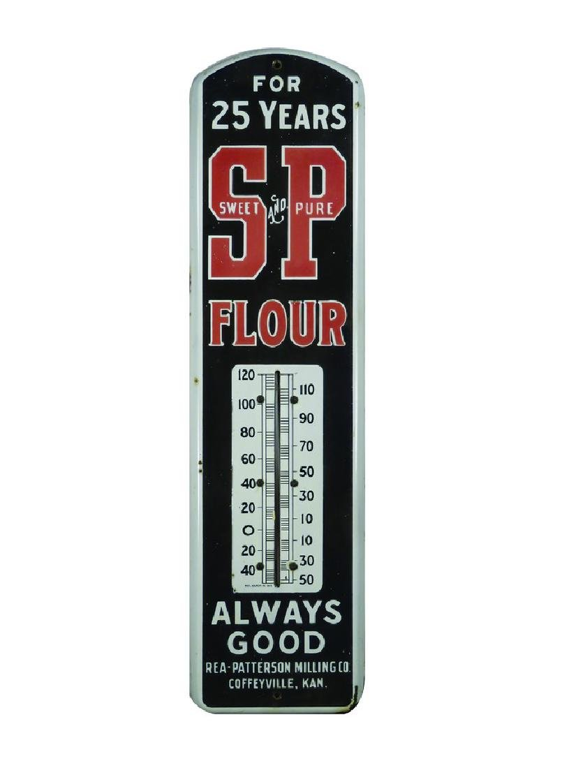 Sweet and Pure Flour Porcelain Thermometer