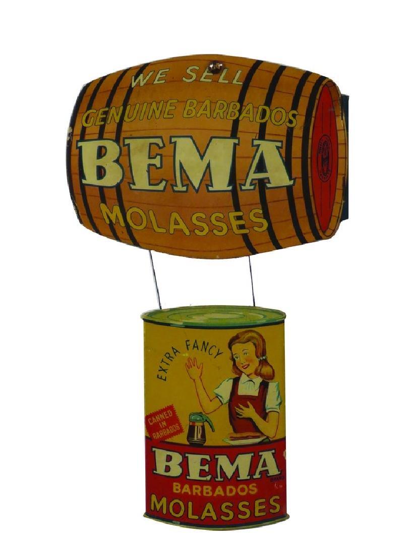 Bema Molasses Die Cut Cardboard Hanging Sign