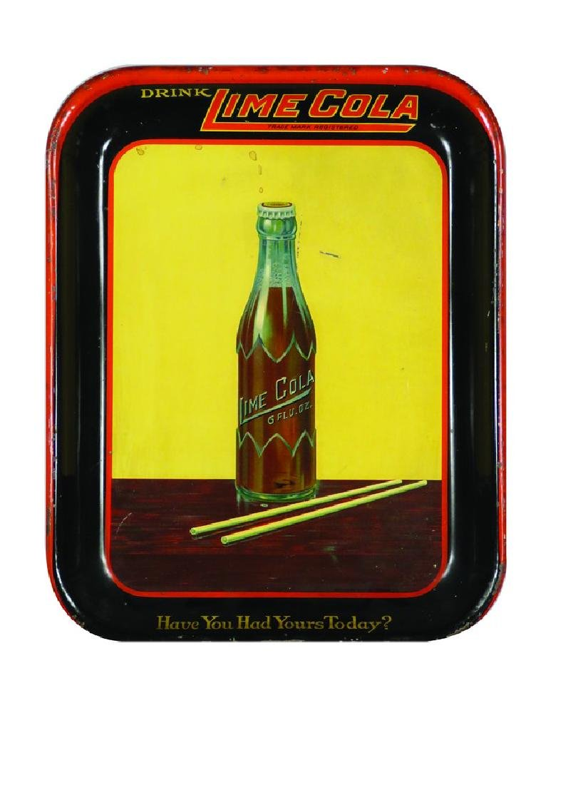 Lime Cola Tin Serving Tray