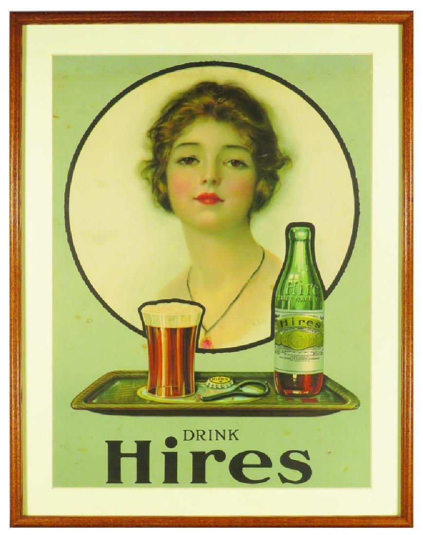 Drink Hires Cardboard Sign