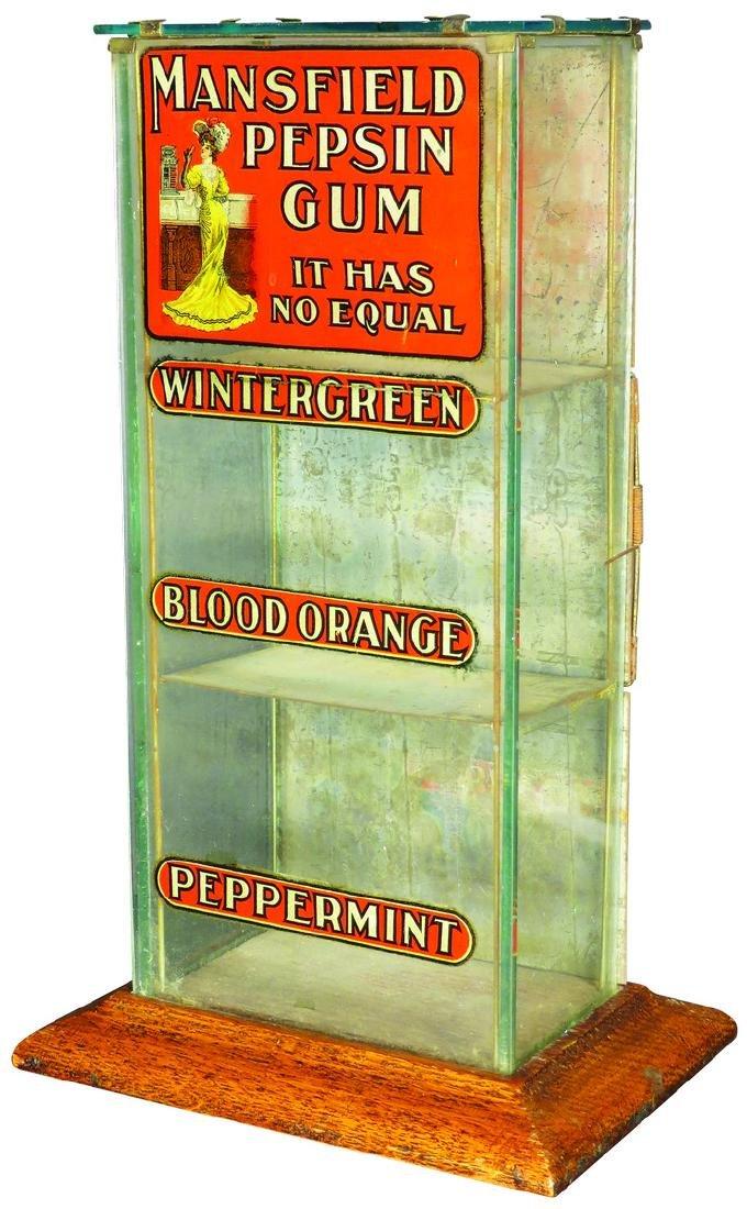 Mansfield Pepsin Gum Store Display