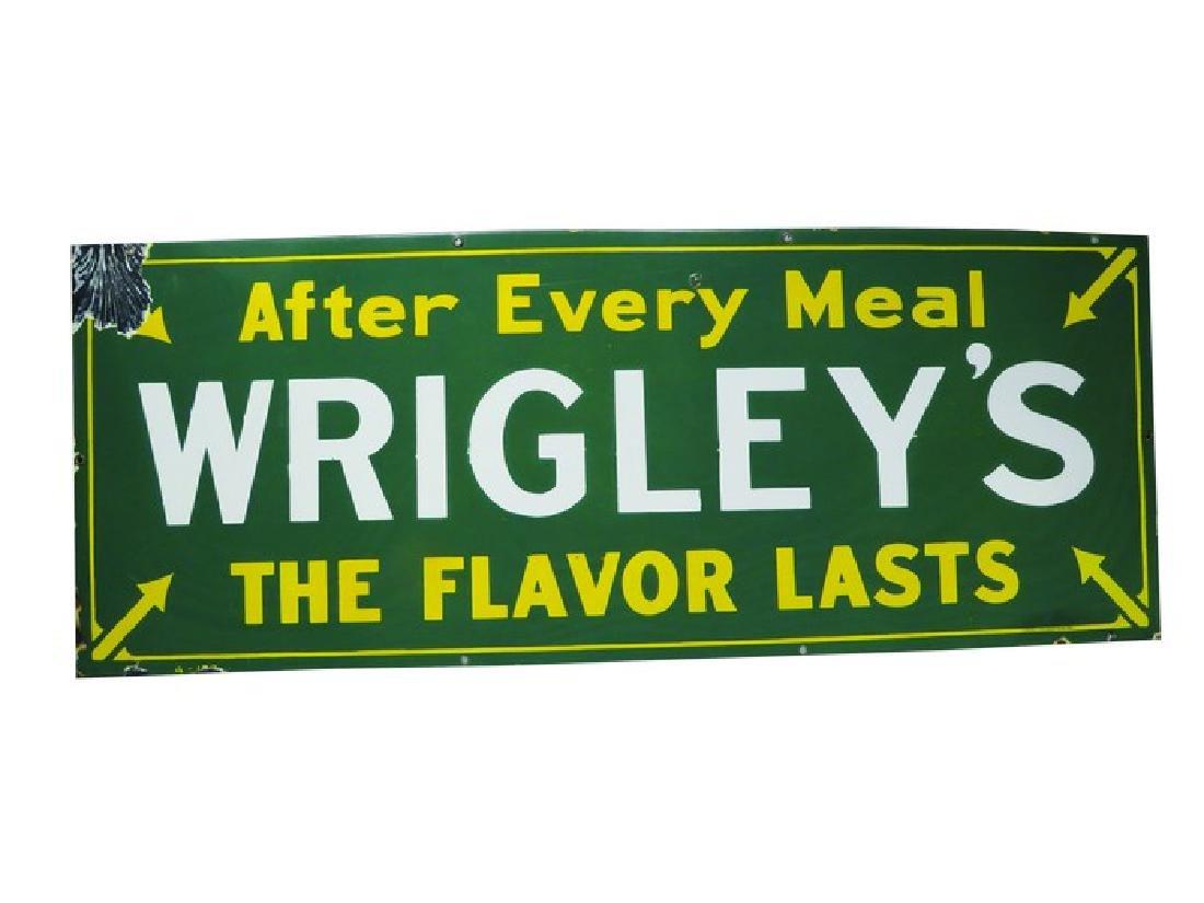 Wrigley's Gum Porcelain Sign