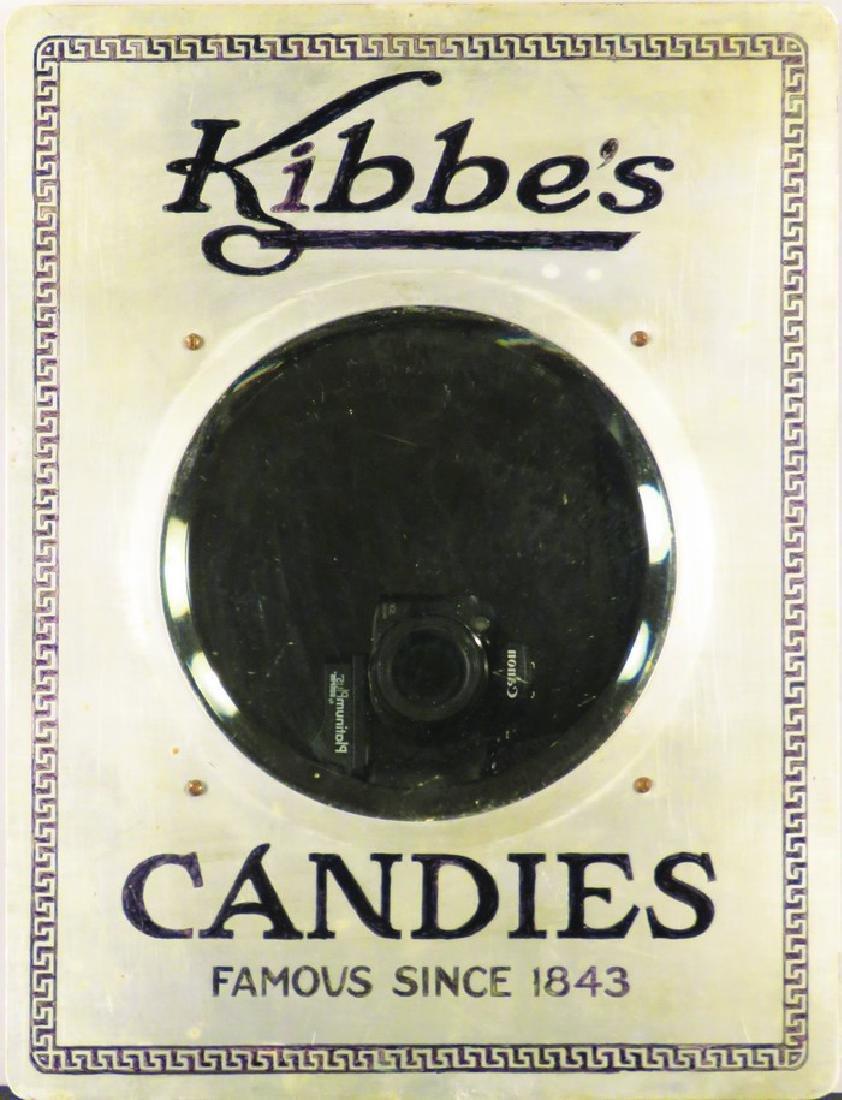 Kibbe's Candies Advertising Mirror