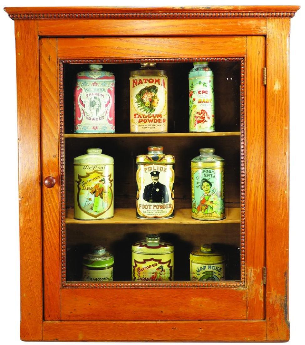 Antique Oak Medicine Cabinet
