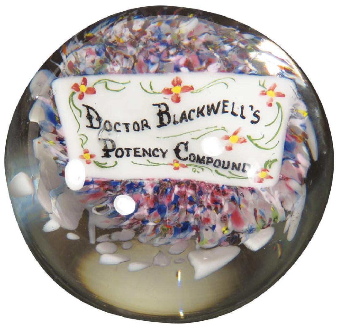 Doctor Blackwell's Potency Compound Paperweight