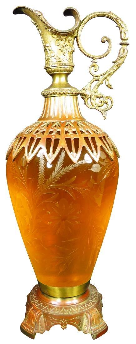 Very Rare Urn Apothecary Show Jar