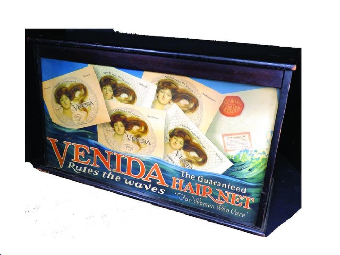 Venida Hair Net Store Display Case
