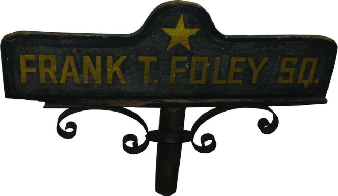 Frank T. Foley Sq. Street Sign