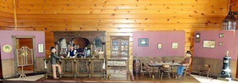 Western Saloon in 1/4 Scale