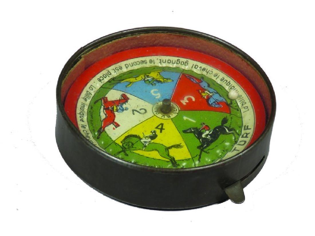 Derby Roulette Wheel Pocket Game