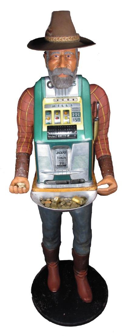 One Armed Bandit Mill's Slot Machine, Miner