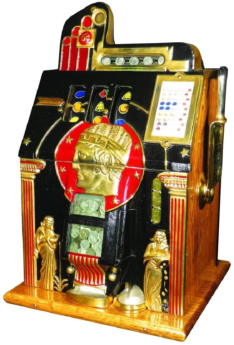 Mills 1932 Golden Bell 5 Cent Slot Machine