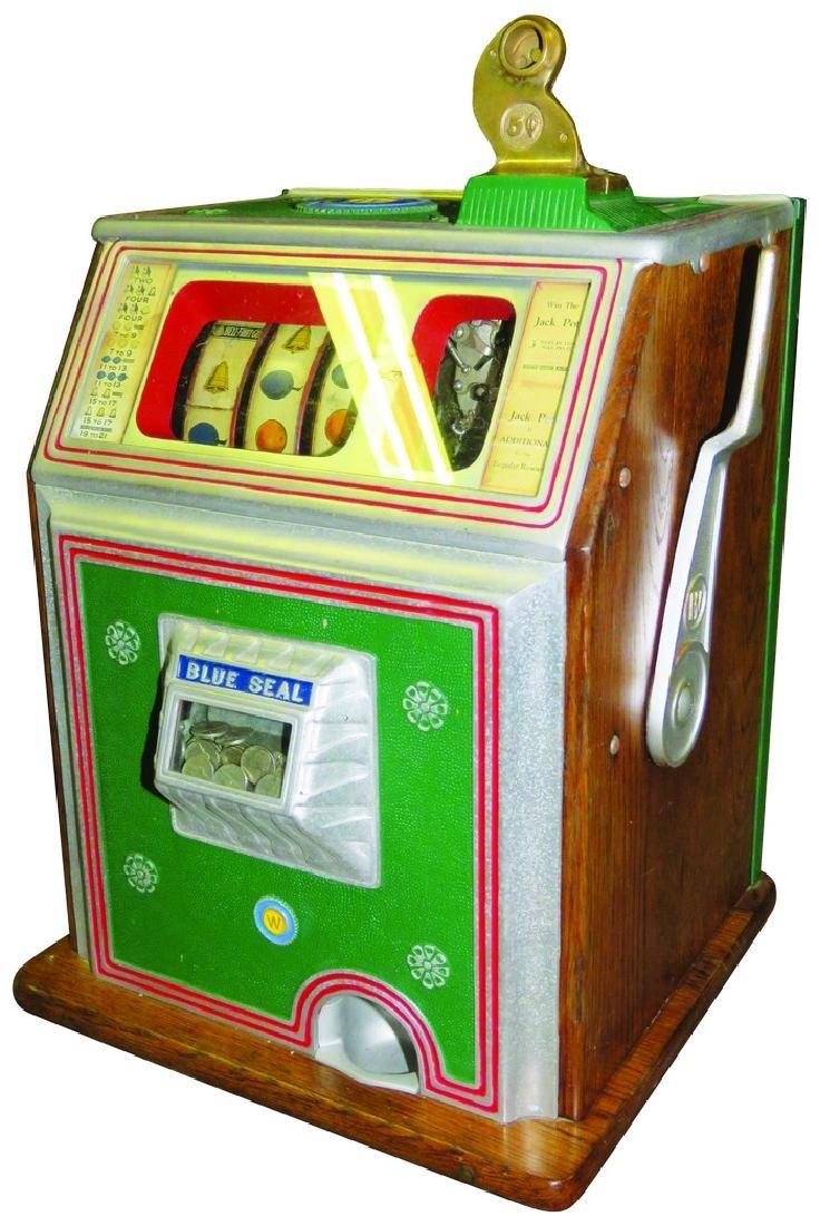 Watling 5 Cent Blue Seal 3 Reel Slot Machine