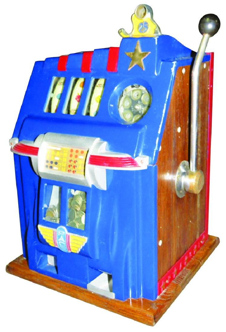 Mill's 25 Cent Pace 3 Reel Slot Machine