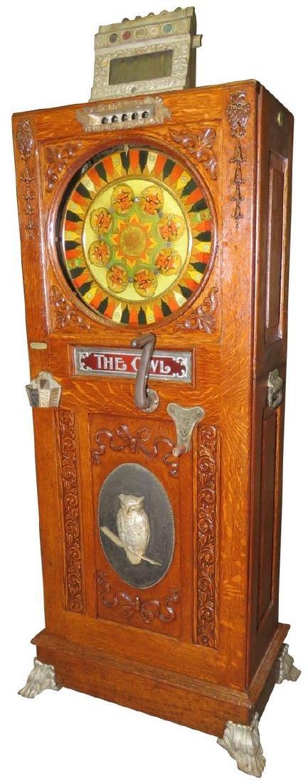 Owl Upright Slot Machine