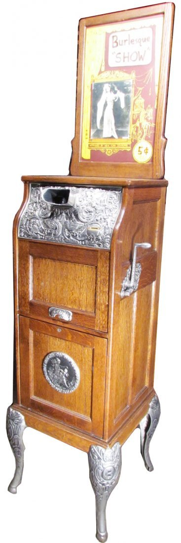 Caille Bros. Coin Operated Mutoscope