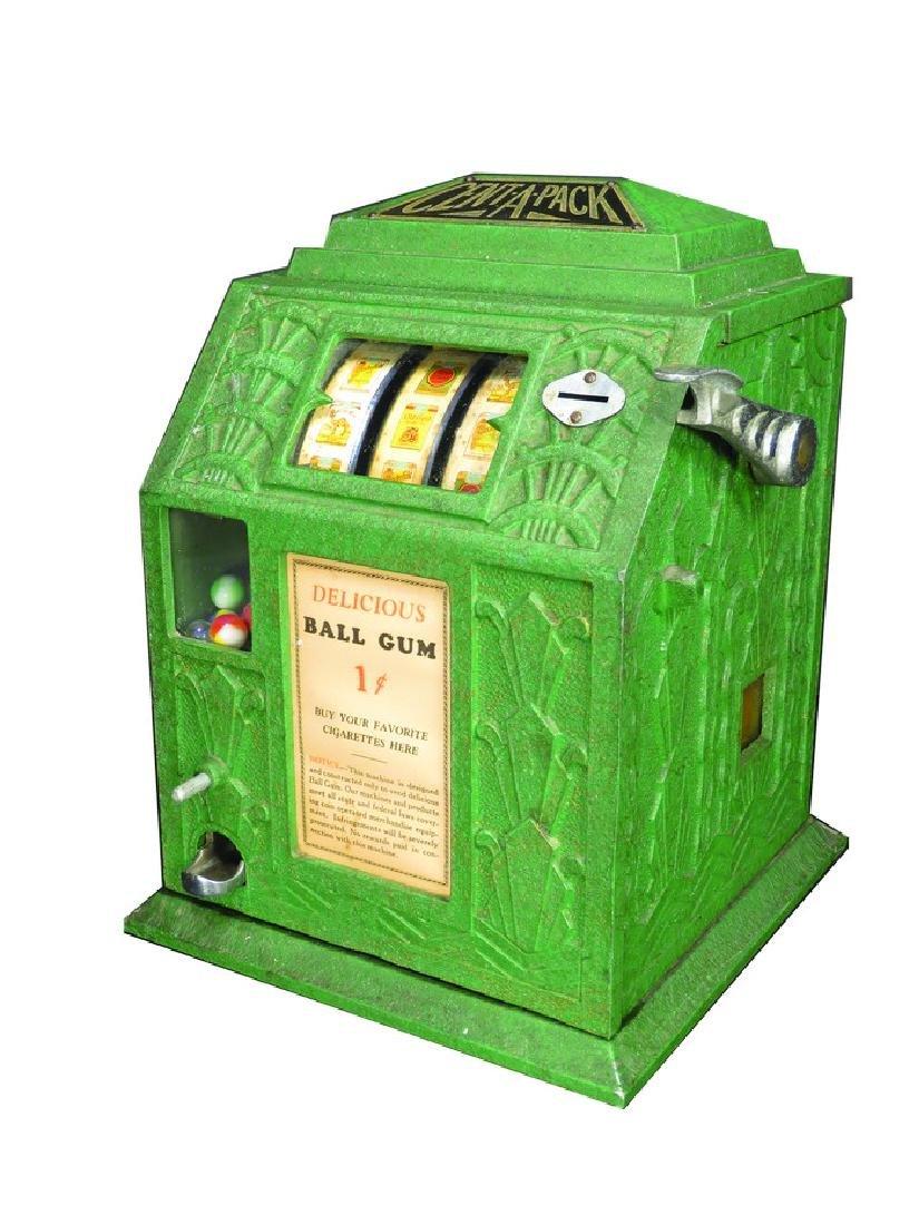 Cent-A-Pack Cigarette Ball Gum Trade Stimulator