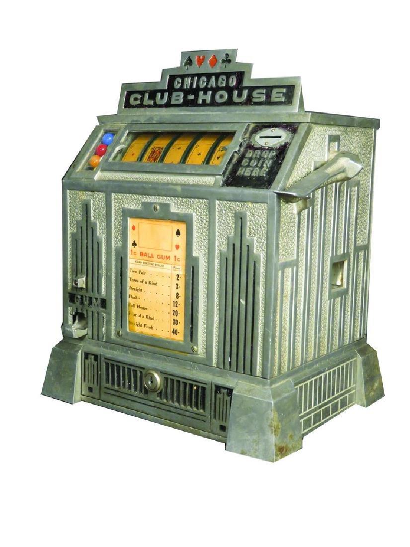 Chicago Club House Trade Stimulator Gum Vendor