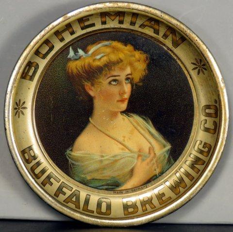 Bohemian Buffalo Brewing Company Tin Tip Tray