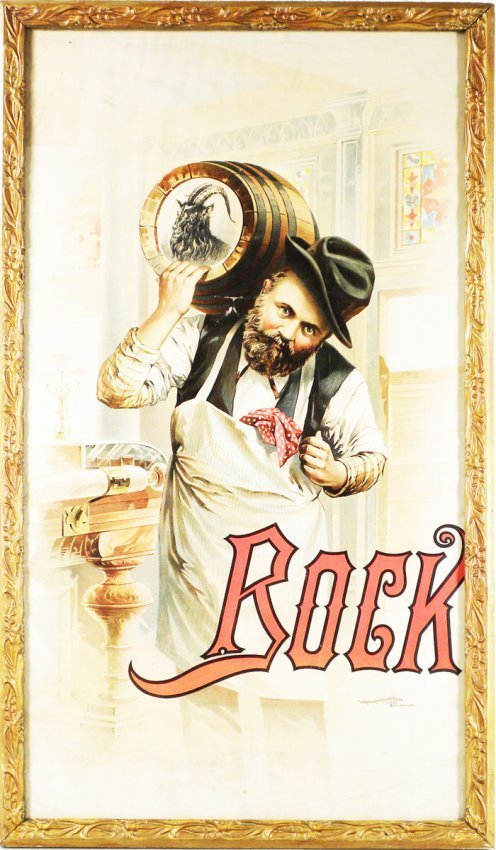 Bock Beer Paper Poster