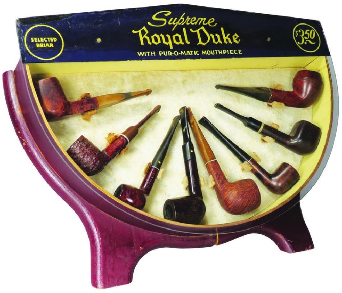 Supreme Royal Duke Pipe Store Display
