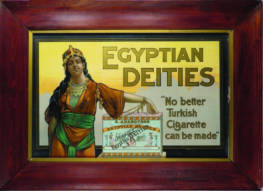 Egyptian Deities Cardboard Sign