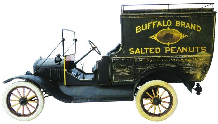 1918 Ford. Model T. Buffalo Peanut Delivery Truck