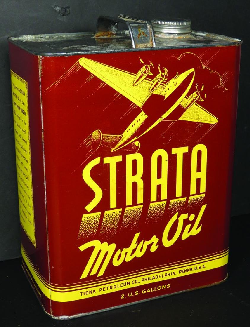 Strata Motor Oil Two Gallon Can