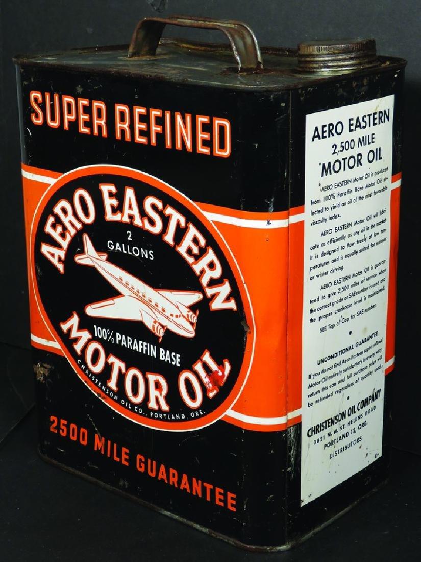 Aero Eastern Motor Oil Two Gallon Can