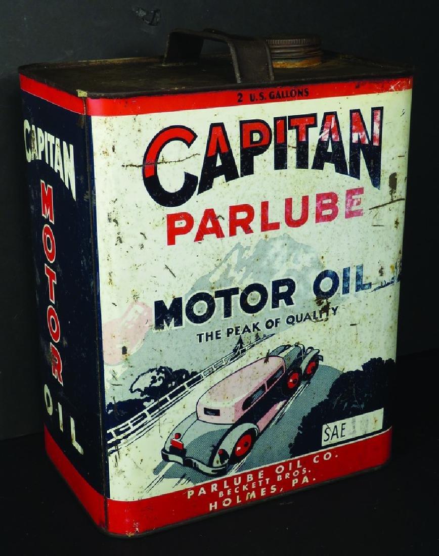 Capitan Paralube Motor Oil Two Gallon Can