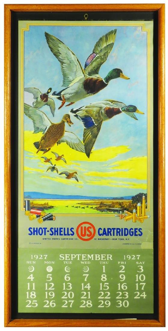 1927 United States Cartridge Company Calendar