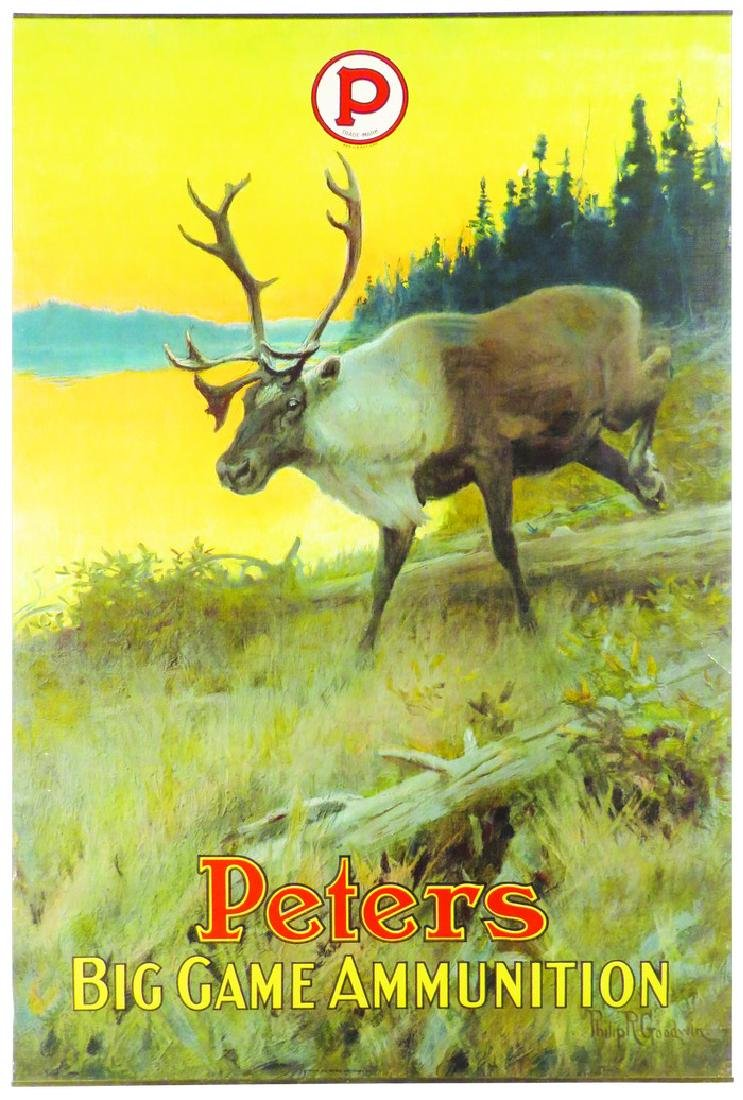 Peters Big Game Ammunition Paper Poster