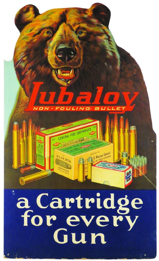 Lubaloy Bullets by Western Cartridge Co. Sign