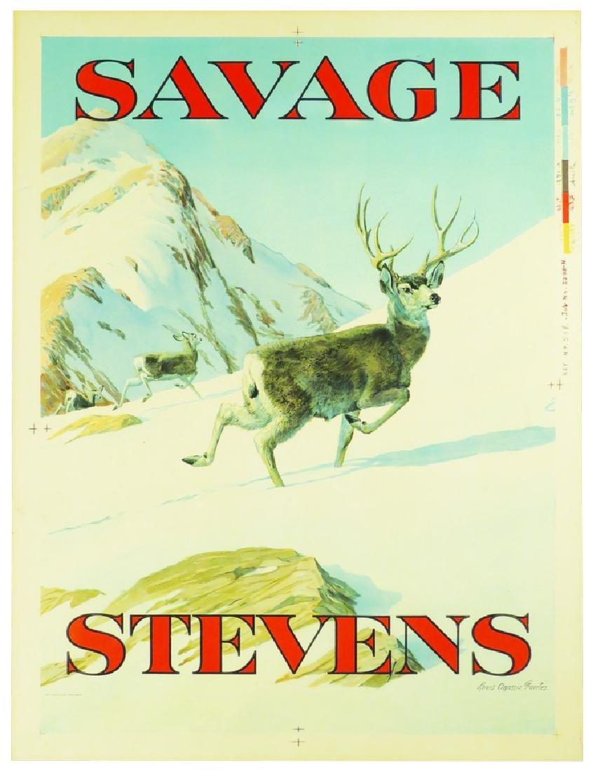 Savage-Stevens Firearms Company Printers Proof