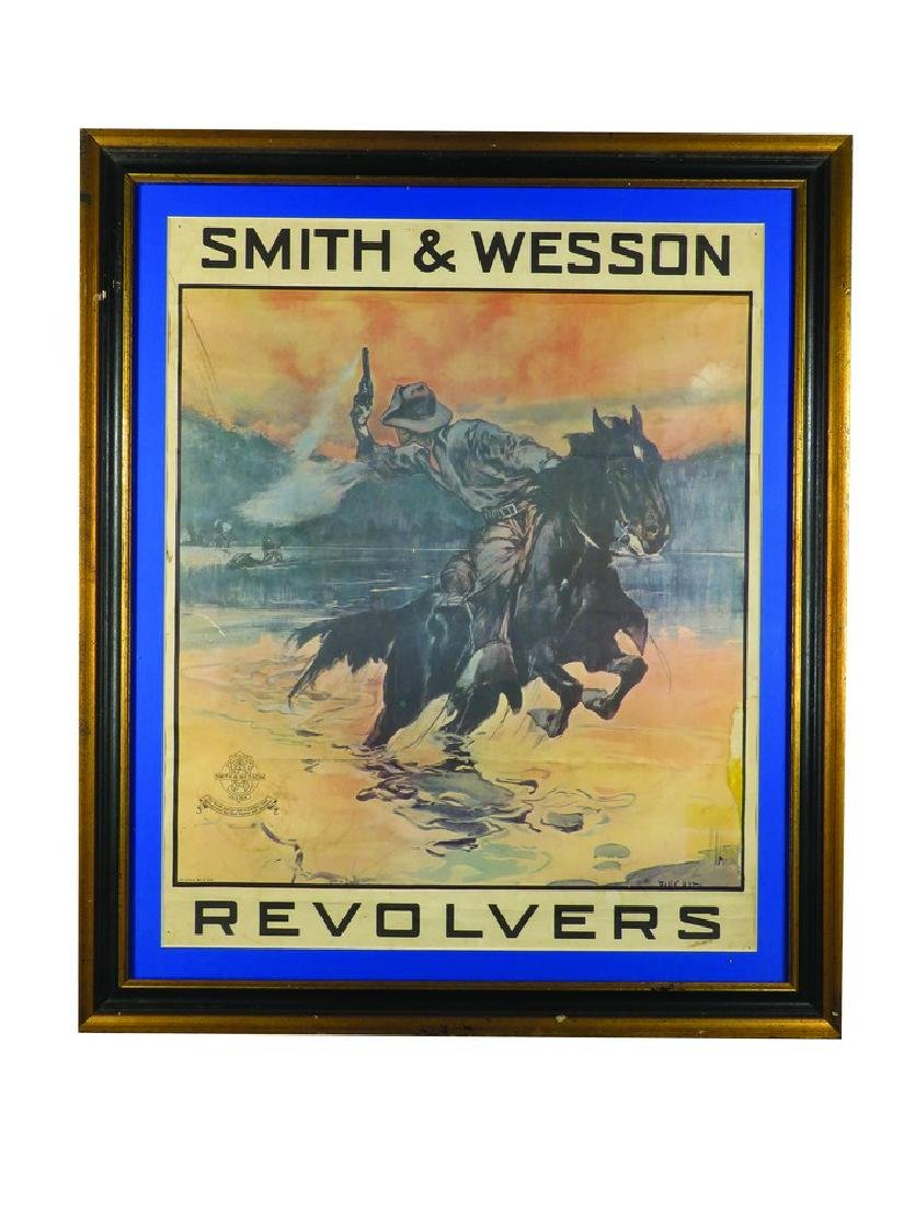 Smith & Wesson Revolvers Paper Sign