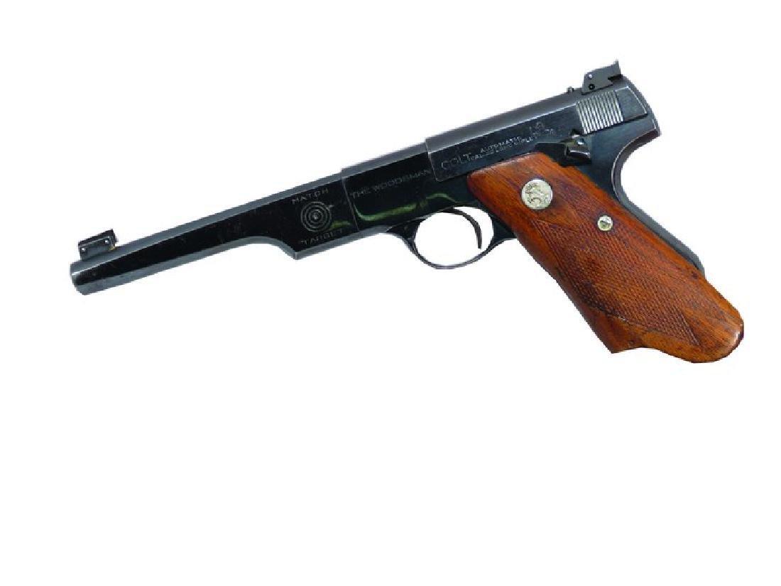 Very Rare Colt Woodsman Match Target Hand Gun